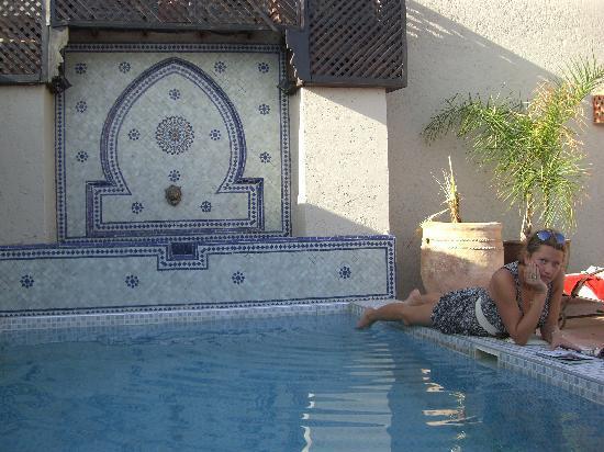 Riad le Clos des Arts: Dipping pool