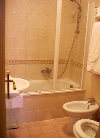 Hotel Due Torri: bath