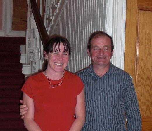 Armagh, UK: Owner/Operator Liz and Larry Nugent