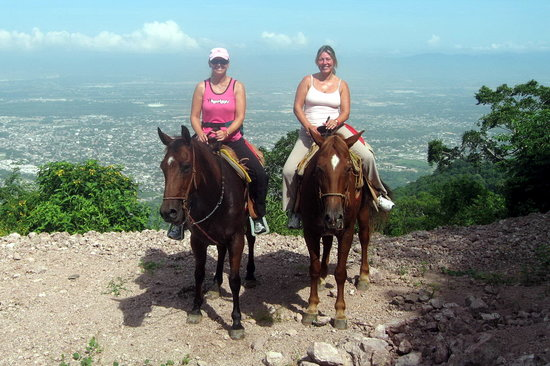 Rancho El Charro: View from the top of the mountain