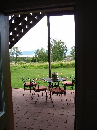 Crane's Rest B&B: View from entrance of Ptarmigan room