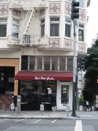 Nob Hill Grille Restaurant : A wonderful meal awaits through those doors!