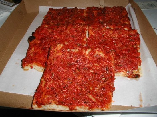 The Best Tomato Pie Review Of Gaeta S Italian Bakery Philadelphia Pa Tripadvisor