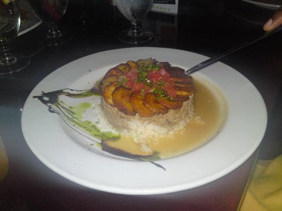 Casona: The pork dish w/ plantains