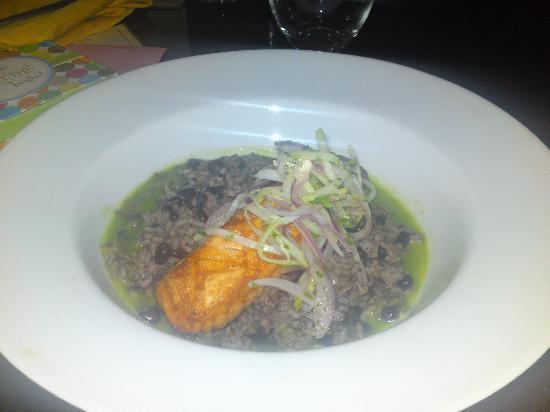 Casona: The Salmon dish