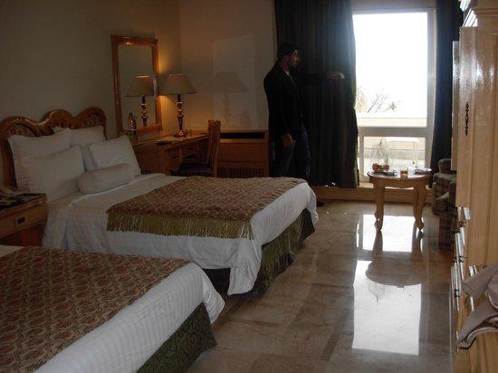 Bhurban, Pakistán: our first room