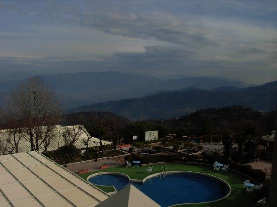 Bhurban, Pakistan: View of the pool