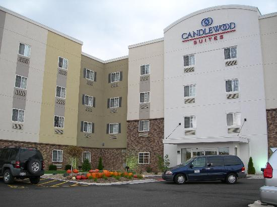 Candlewood Suites Springfield : Candlewood Suites