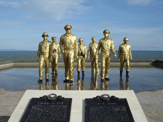 Tacloban, Philippines: マッカーサーの上陸記念公園