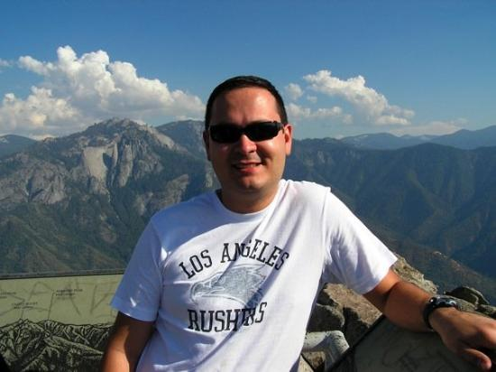 Finally on top of Moro Rock.