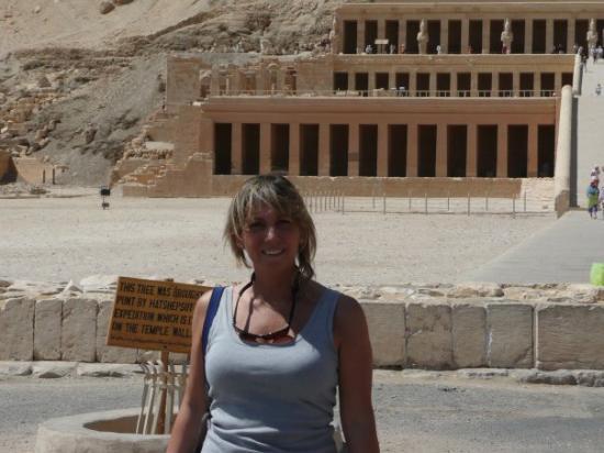Abu Simbel, Égypte : tempio hatshepsut