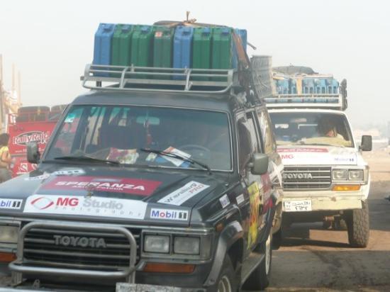 Abu Simbel, Ägypten: rally dei faraoni