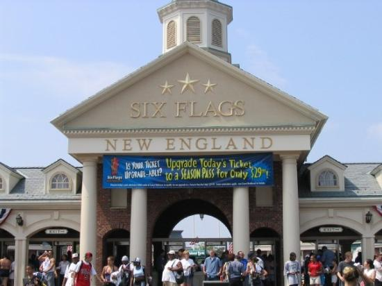 Agawam, MA: Six Flags New England, Massachusetts