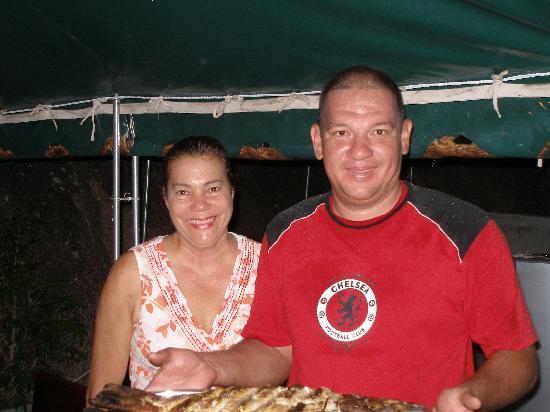 Aquario: Farieda and Joseph, hospitable hosts
