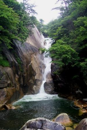 Shosenkyo waterfall, Yamanashi Prefecture