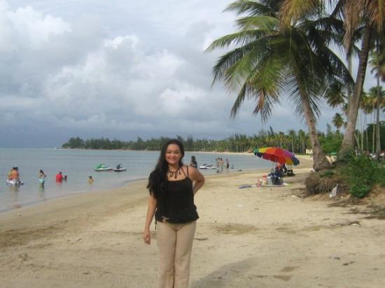 En Luquillo beach