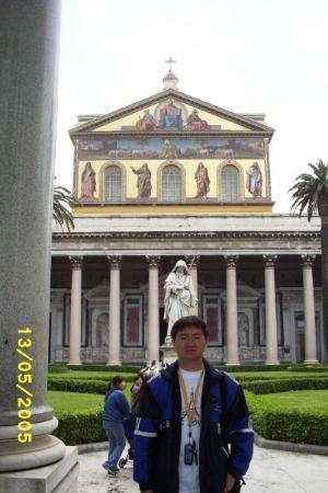 Abbazia di San Paolo Fuori Le Mura: St. Paul Outside the Walls, Rome, Italy