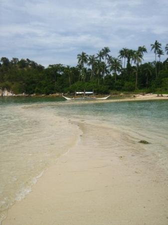El Nido, Philippines: Snake Island Sandbar