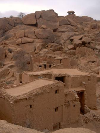 village désert près de tafraoute