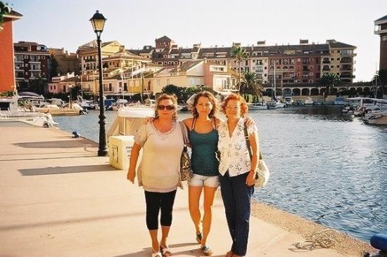 Alboraya, Spanje: Mama, Ich, Tante aus Madrid