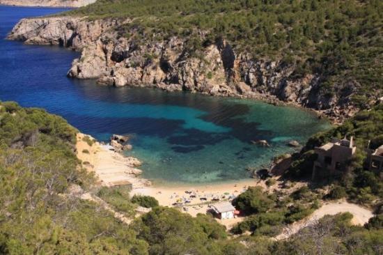 Portinatx, Hiszpania: cala de`n serra