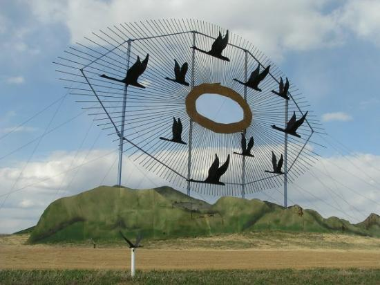"The Enchanted Highway ""Geese in Flight"" Regent, ND"