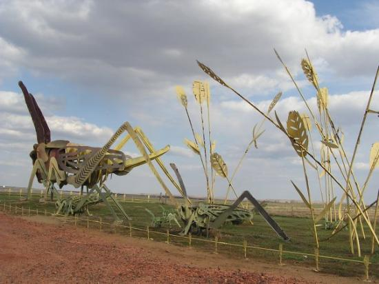 "The Enchanted Highway ""Grasshopper's Delight"" Regent, ND"