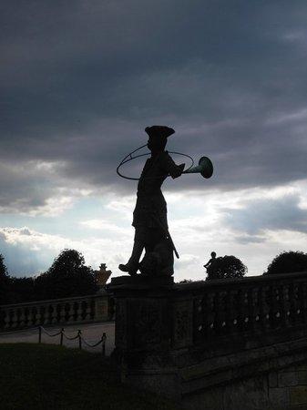 Moritzburg, Germany: ...voll geiler Himmel oder!