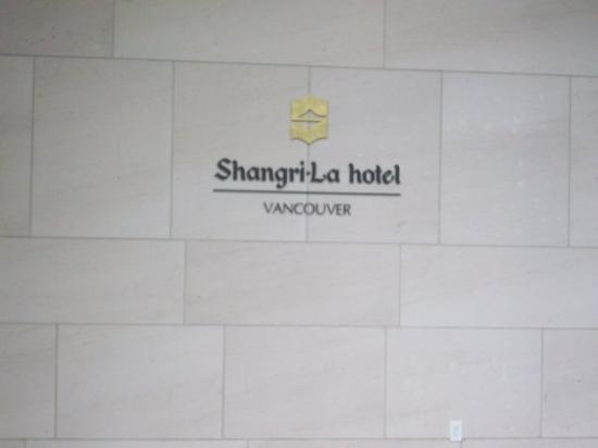 Shangri-La Hotel, Vancouver: nice hotel we stayed at...