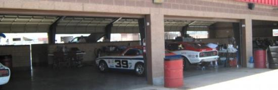 VARA Race Fontana Datsuns in the Paddock