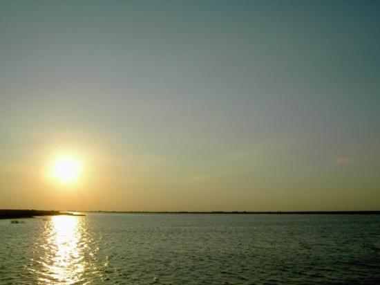 Atyrau, คาซัคสถาน: Volgograd sunset