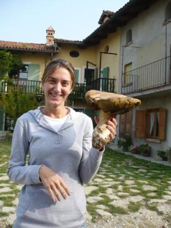 Monforte d'Alba, Itália: Guarda il funghi... Italia