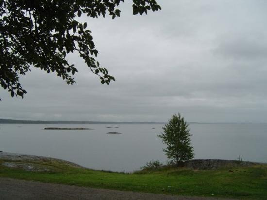Vänersborg, Sverige: Vänern, het grootste meer van Zweden
