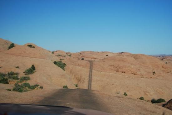 Hell's Revenge - Sand Flats Recreationa Area, Moab, Utah 9-08