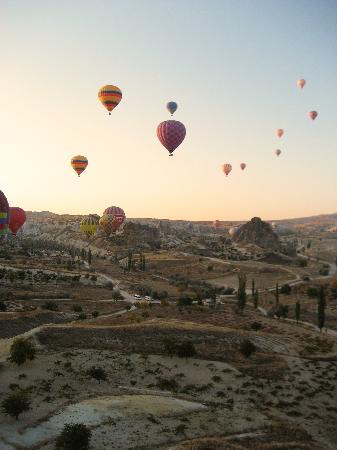 Urgup, Turquie : sunrise