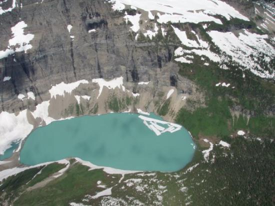 Glacial Lake Photo De Parc National De Glacier Montana