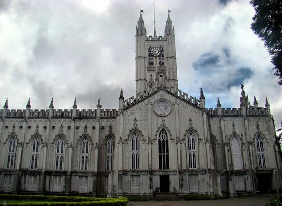 Kolkata (Calcutta), India: St.Paul Cathedral