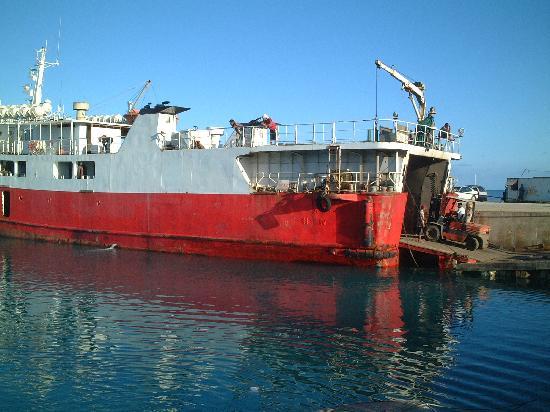 Tonga : トンガでがんばってる元フェリー羽幌