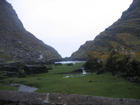 Fossa, Irlanda: Gap of Dunlow