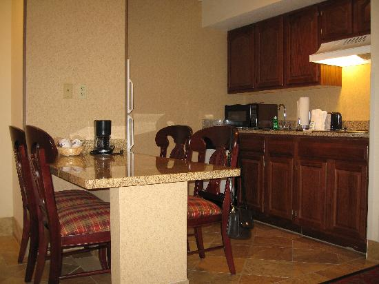 Hampton Inn & Suites Pigeon Forge On The Parkway: The Kitchen in my suite