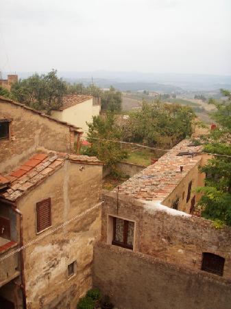 La Mezzana Rossa: Views from Window