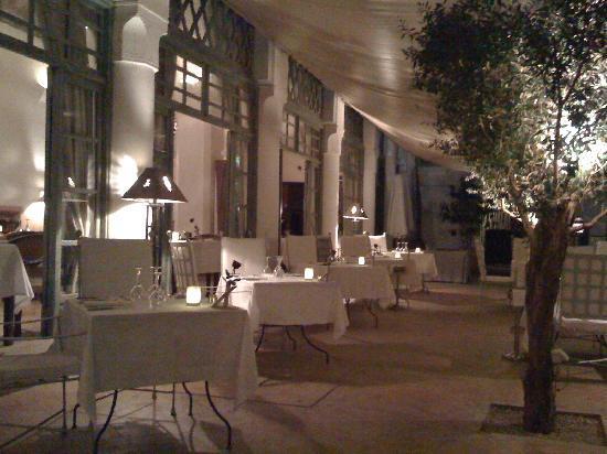 Les Jardins de la Medina: Restaurant le soir