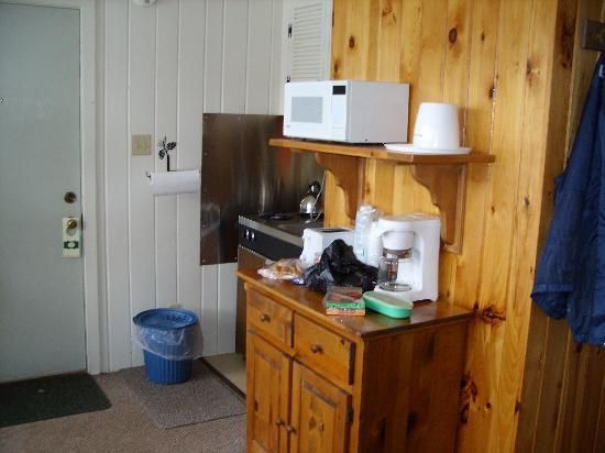 Adirondack Motel: another part view of room
