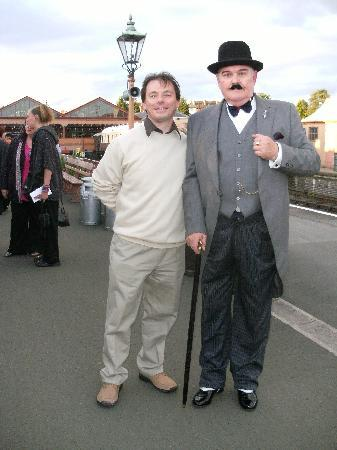 Kidderminster, UK: Me and Poirot
