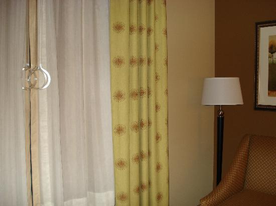 Hampton Inn Knoxville-East: Drapes