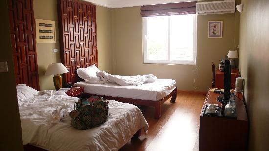 Joseph's Hotel: my room :)