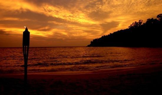 ปังกอร์, มาเลเซีย: Burning sky...
