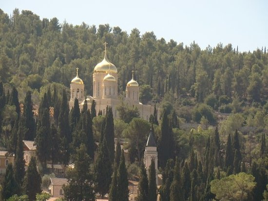 Russian Church, Ein Kerem, Jerusalem.