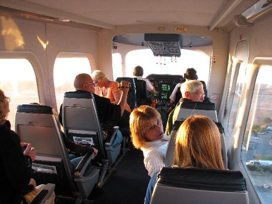 Cabin Interior As We Take Off Picture Of Airship