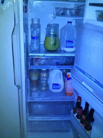 Orinda Bed and Breakfast: Fridge